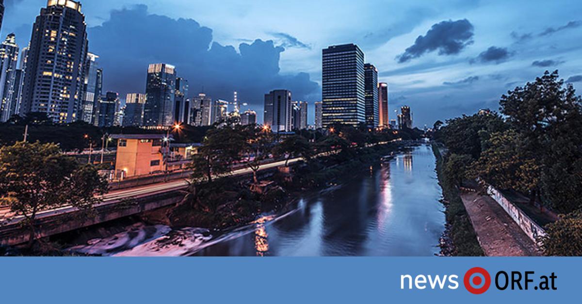 Jakarta droht zu versinken