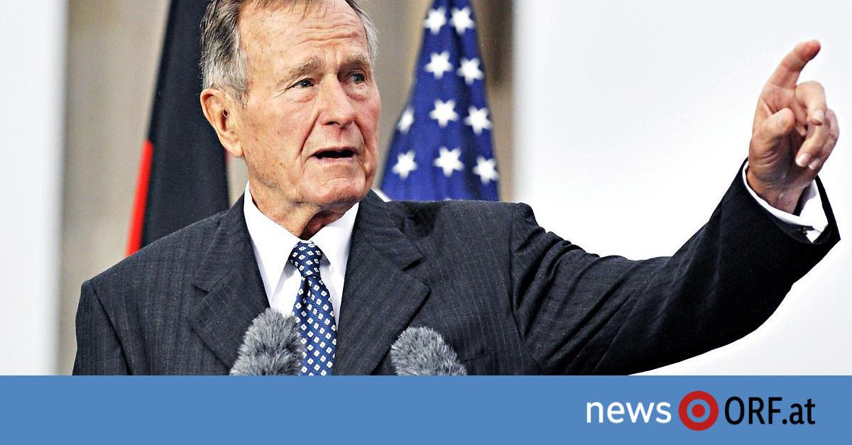 1924–2018: George H. W. Bush ist tot