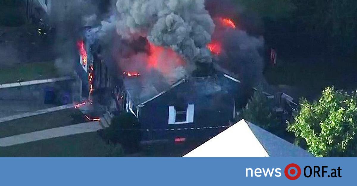 """""""Wie Armageddon"""": Gasexplosionen in Dutzenden US-Häusern"""