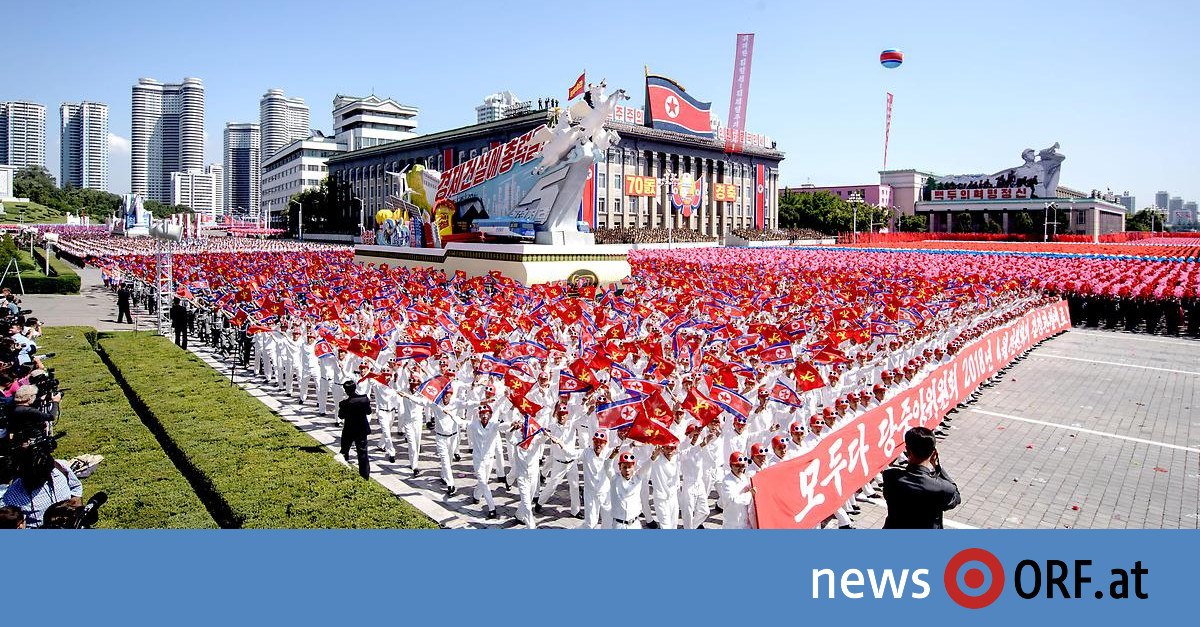 70-jähriges Bestehen: Parade in Nordkorea ohne Provokation