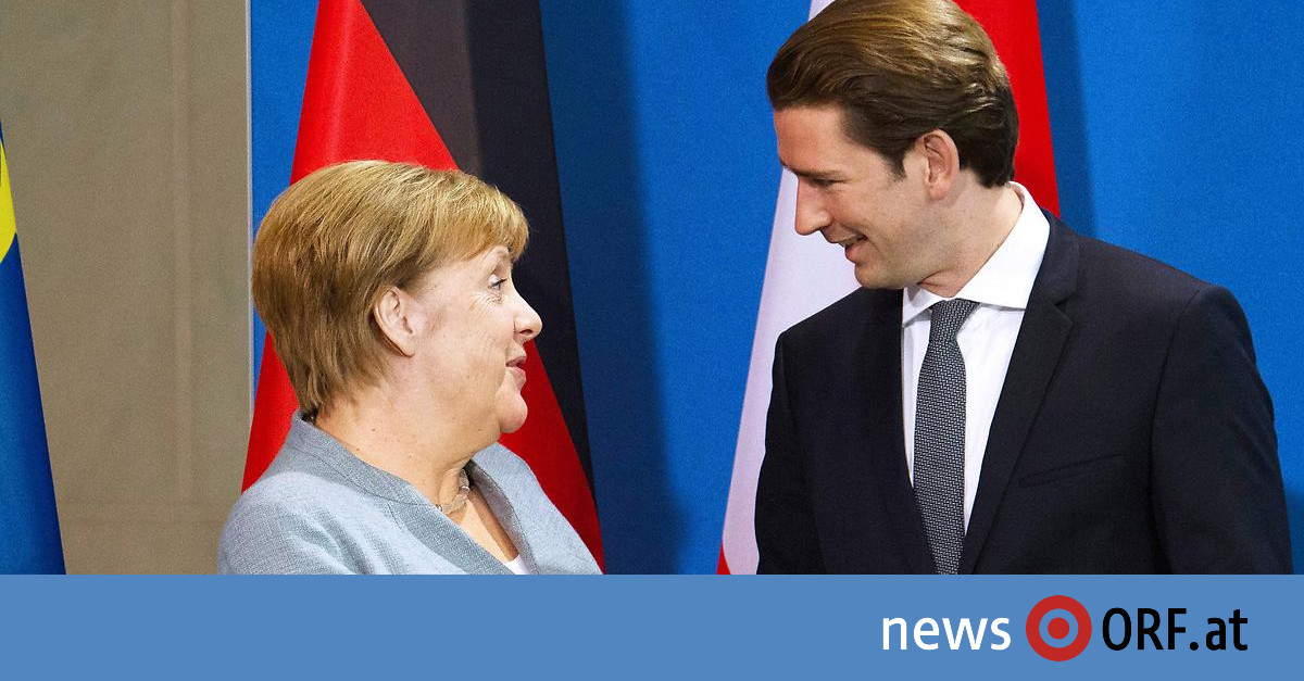EU-Grenzschutz: Kurz und Merkel für Frontex-Stärkung