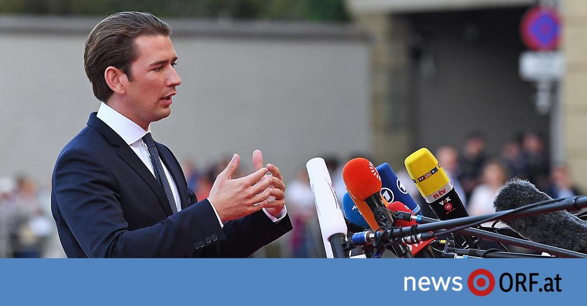 """EU-Gipfel in Salzburg: Kurz drängt Briten zu """"Schritt vorwärts"""""""
