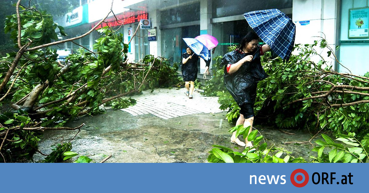 """""""Mangkhut"""": Millionen auf der Flucht vor Taifun"""