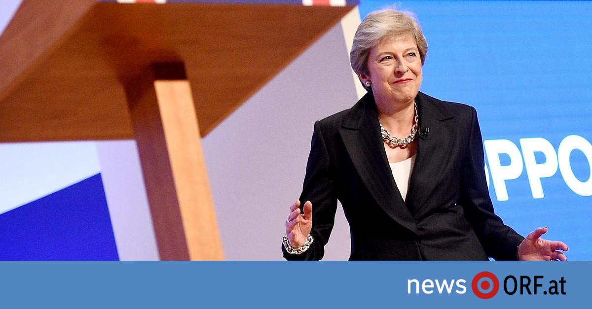 """Kritik an """"Brexit""""-Plan: May ruft Partei zu Zusammenhalt auf"""