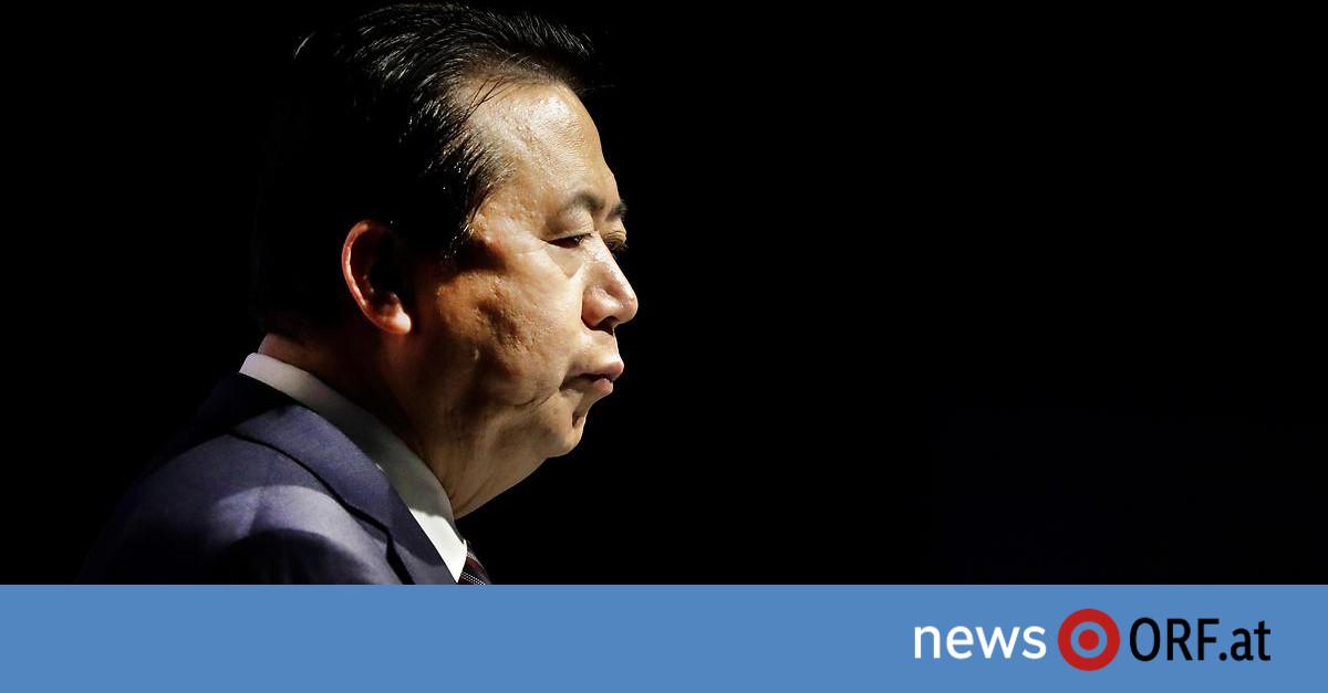 "In China ""unter Aufsicht"": Interpol-Chef Meng tritt zurück"