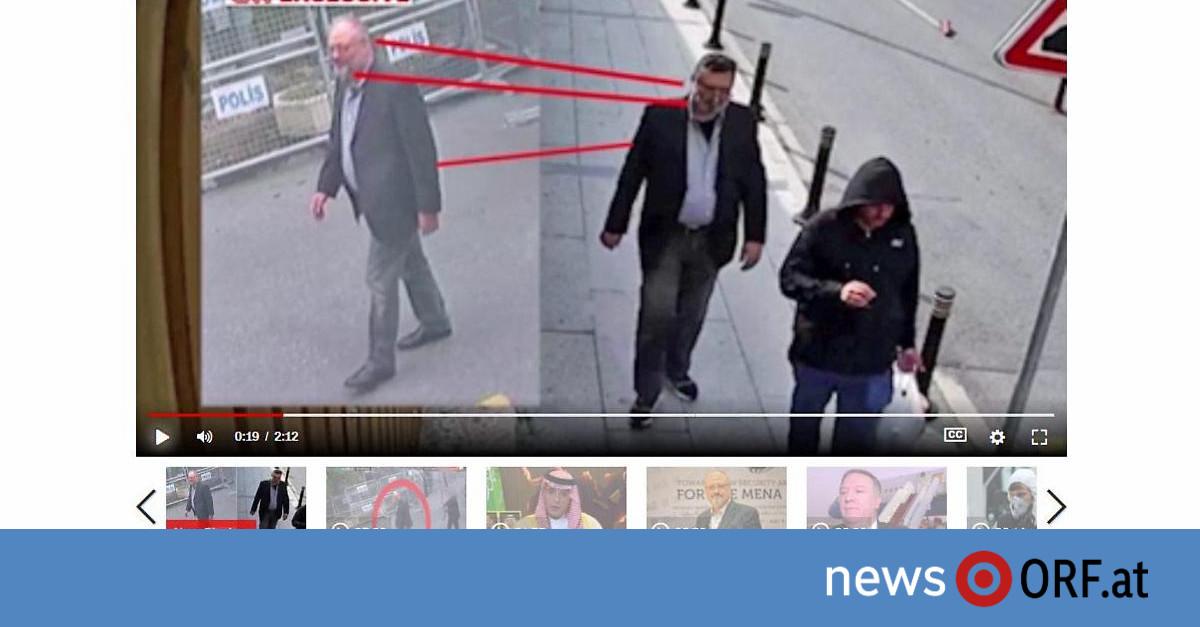 Überwachungsvideo: Saudi-Agent in Khashoggis Kleidung?