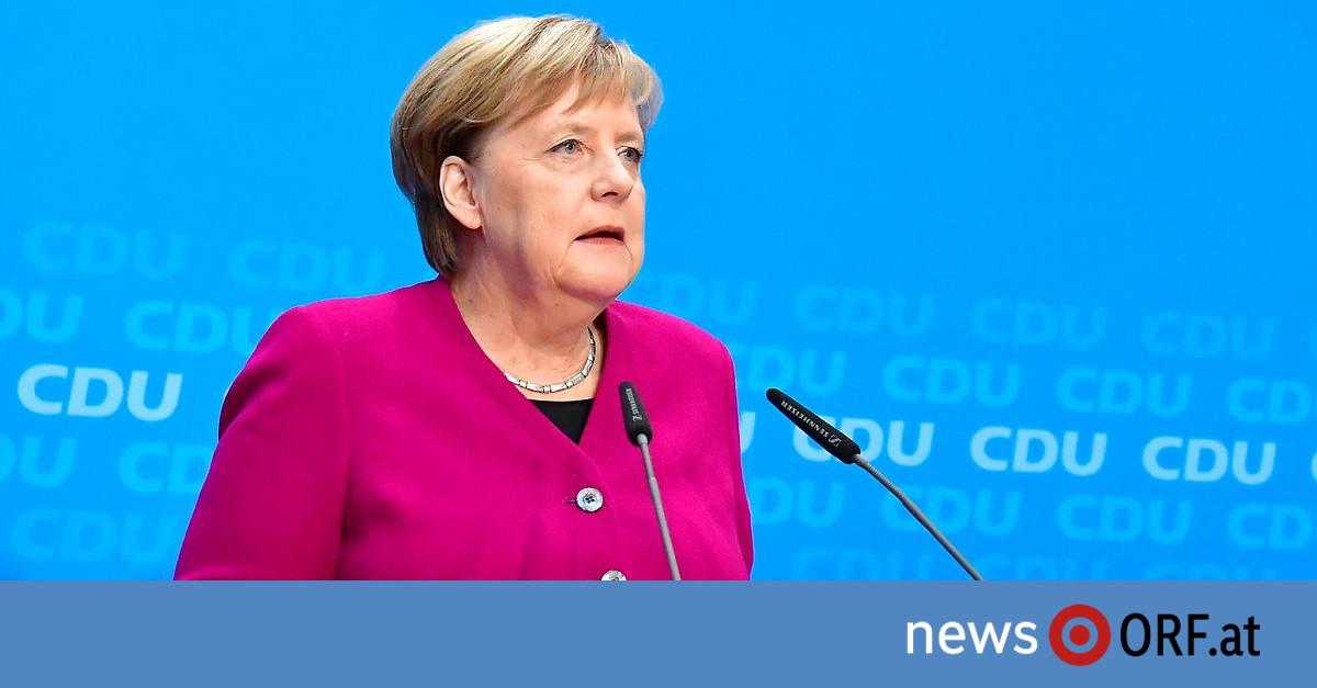 """Neues Kapitel"": Merkel bestätigt Rückzug aus Politik"