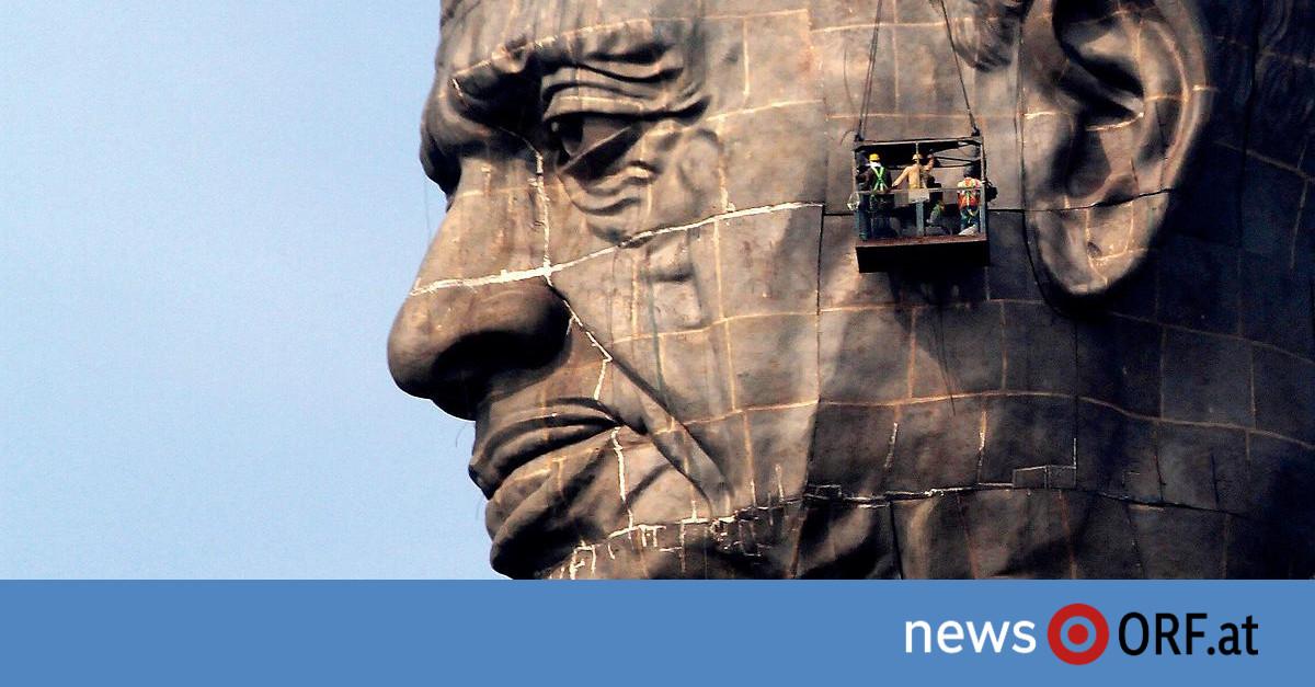 240 Meter: Größte Statue der Welt eingeweiht