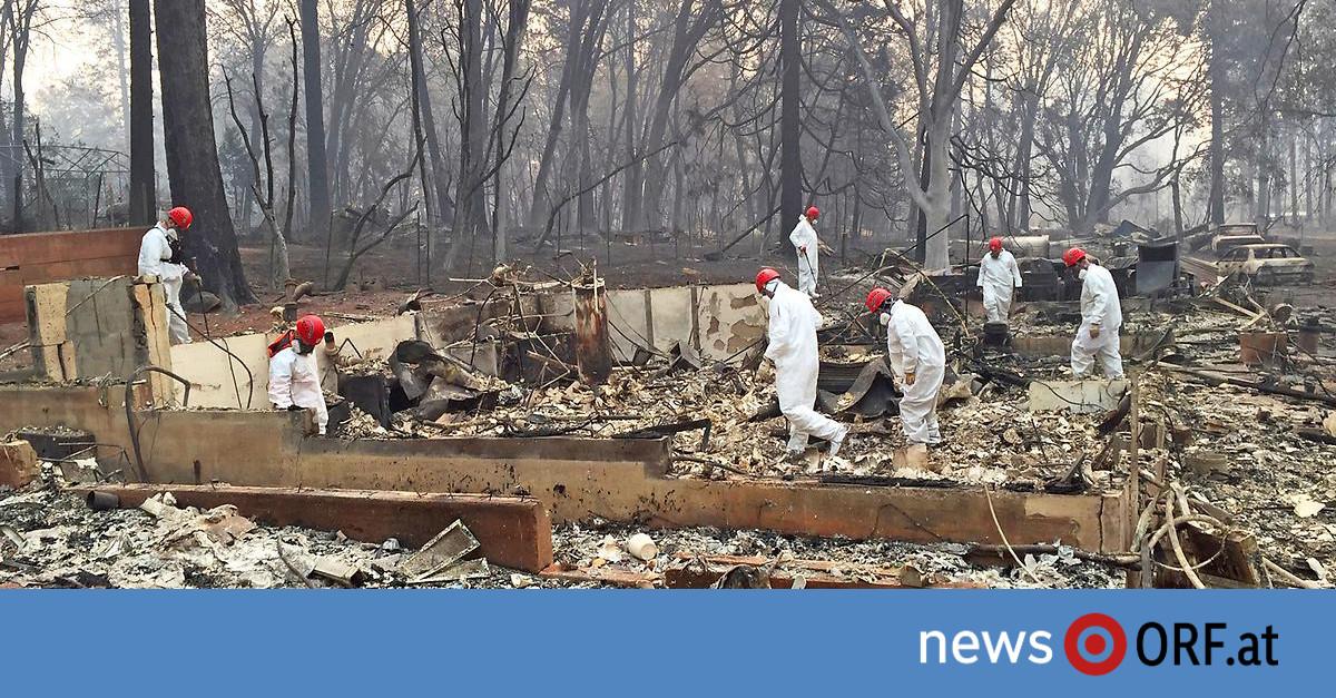 Waldbrände: Mehr als 630 Vermisste in Kalifornien