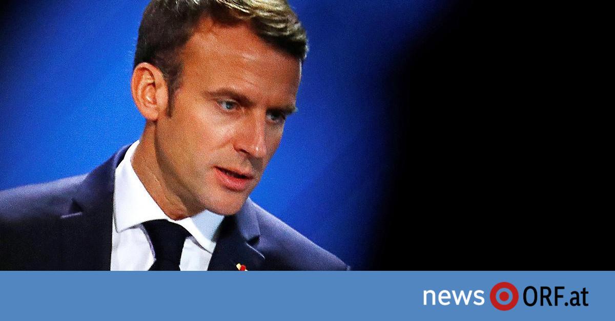 Rede in Berlin: Macron sieht Welt am Scheideweg