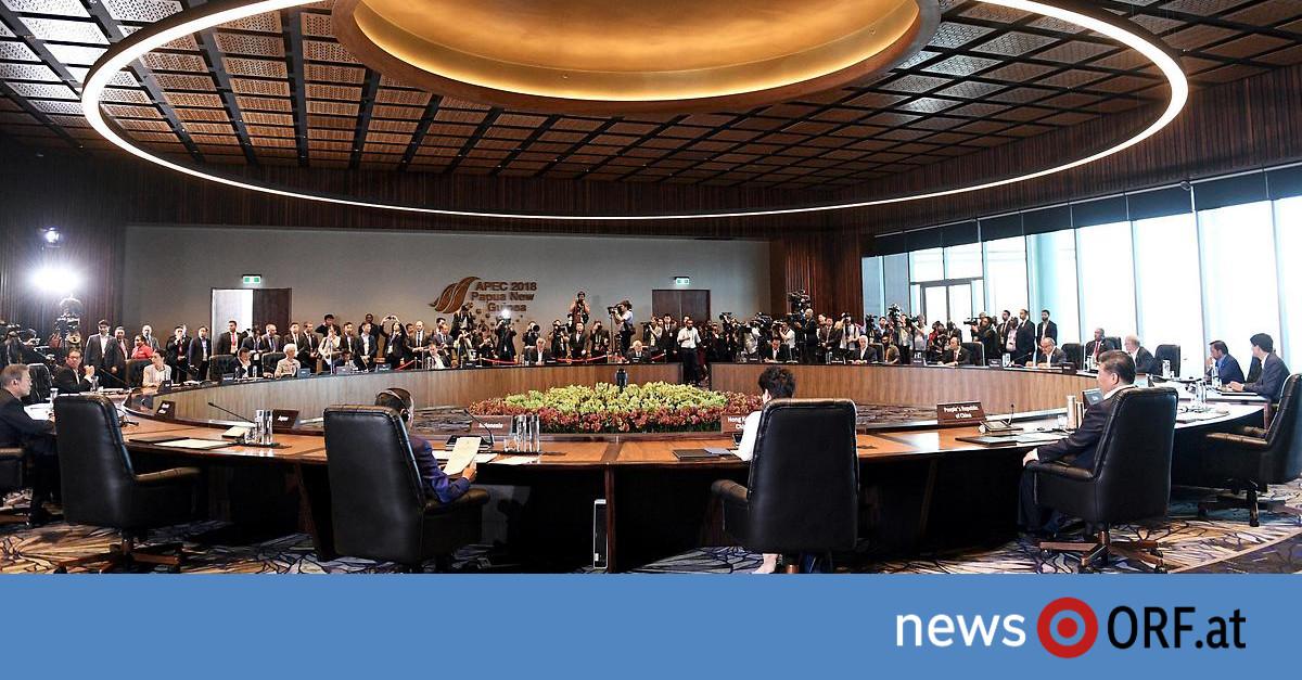 Keine Abschlusserklärung: Handelsstreit wirft Schatten auf APEC-Gipfel