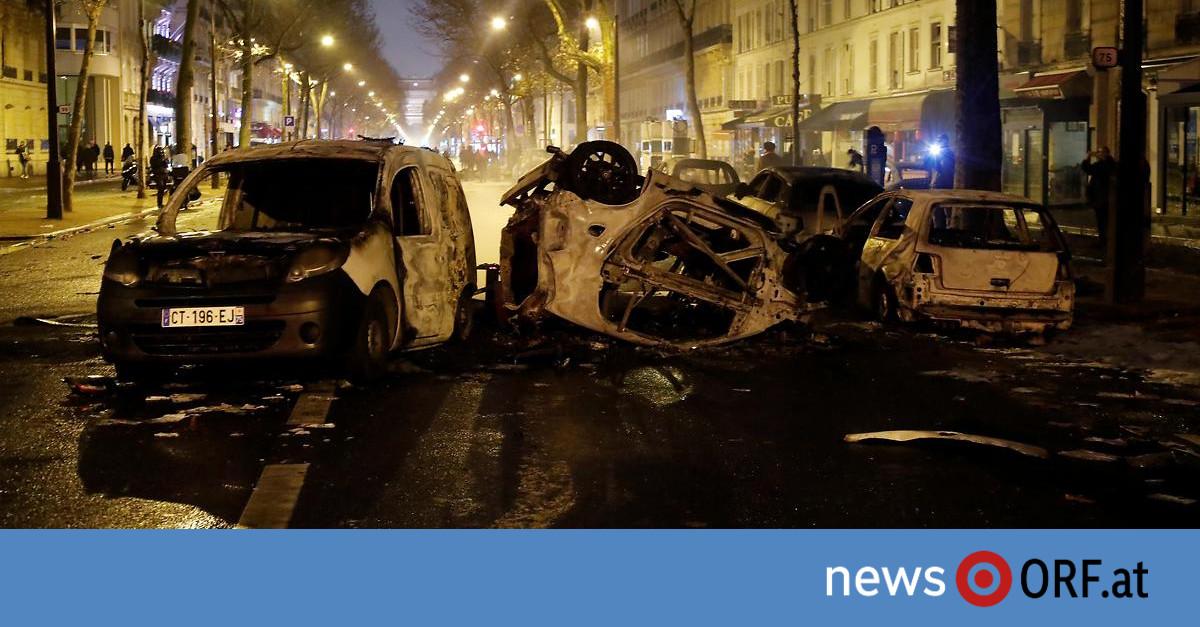 """""""Gelbwesten"""": Bild der Verwüstung in Paris"""