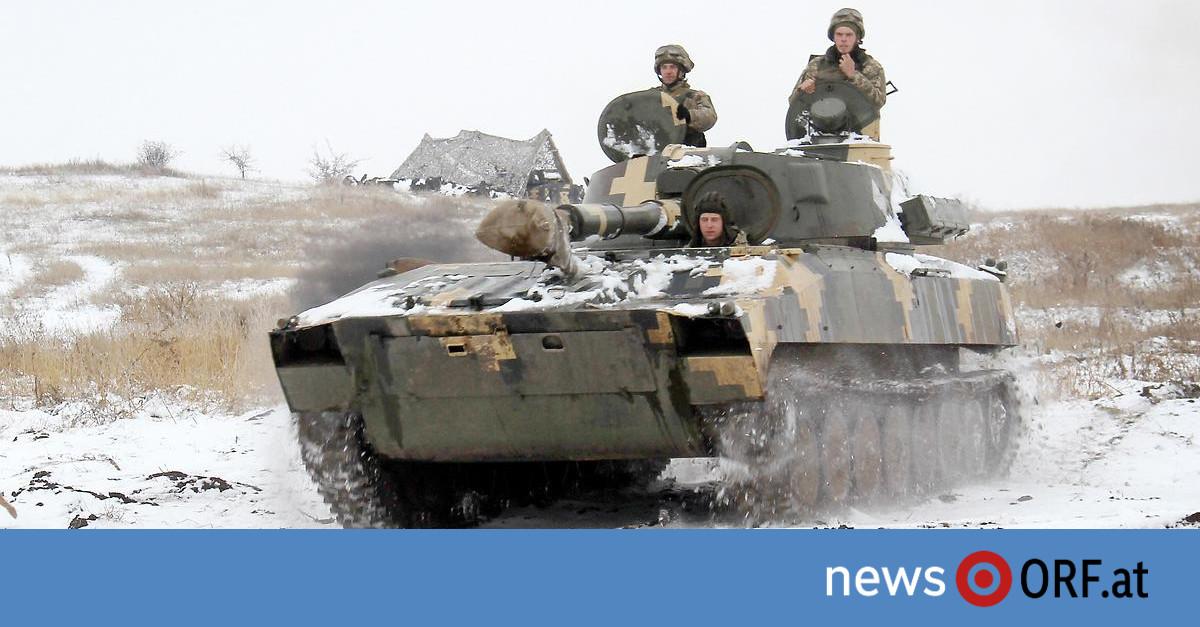 Konflikt mit Moskau: Kiew versetzt Armee in Kampfbereitschaft