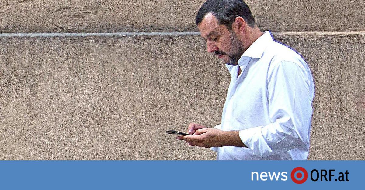 Anti-Mafia-Razzia: Aufregung über twitternden Salvini