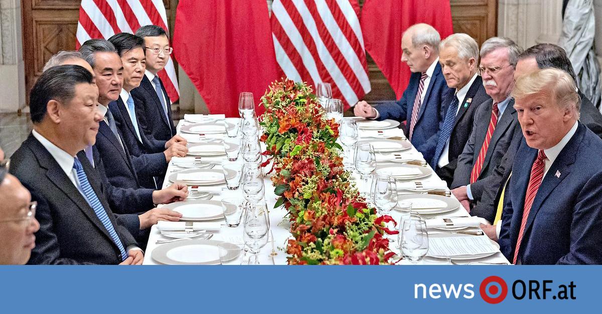 """Handelsstreit: """"Waffenstillstand"""" zwischen USA und China"""
