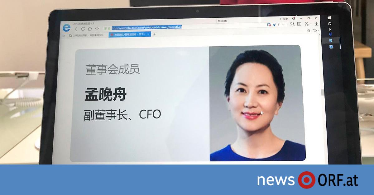 USA fordern Auslieferung: Huawei-Finanzchefin verhaftet
