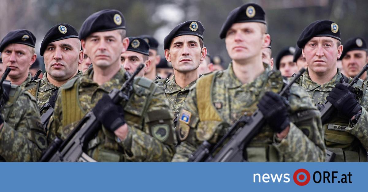 Parlamentsbeschluss: Kosovo will eigene Armee aufbauen
