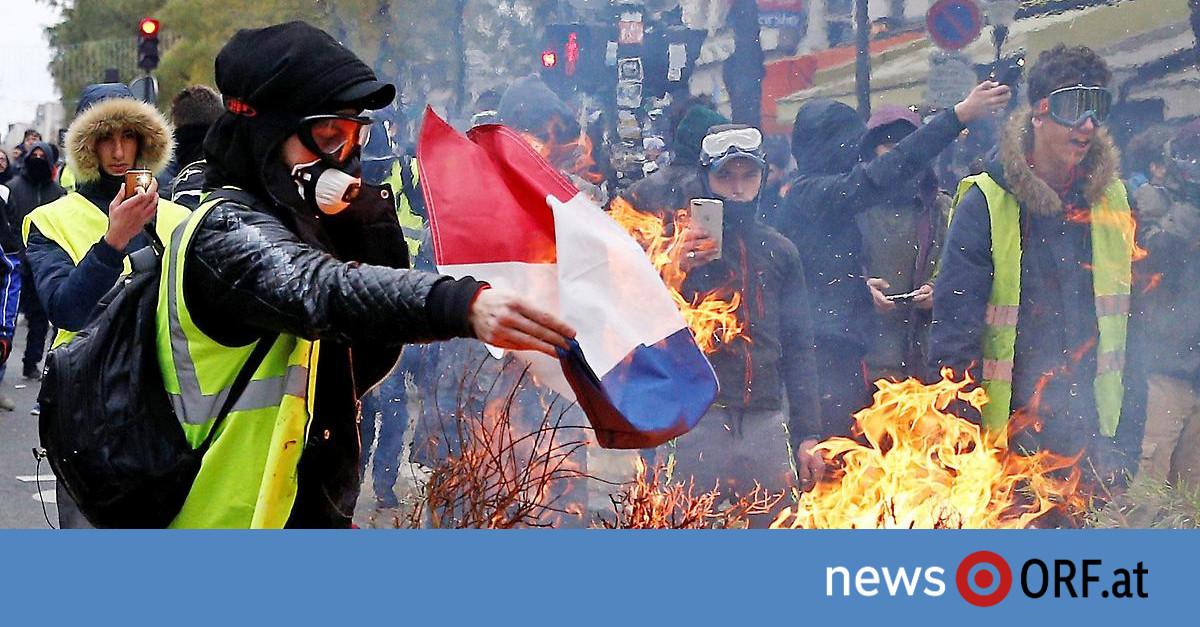 Proteste in Frankreich: Mit Chaostagen steigt Druck auf Regierung