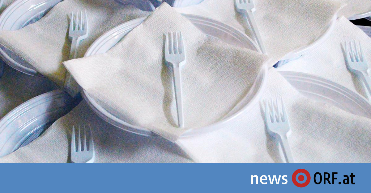 Wegwerfprodukte: EU einig über Verbot von Einwegplastik