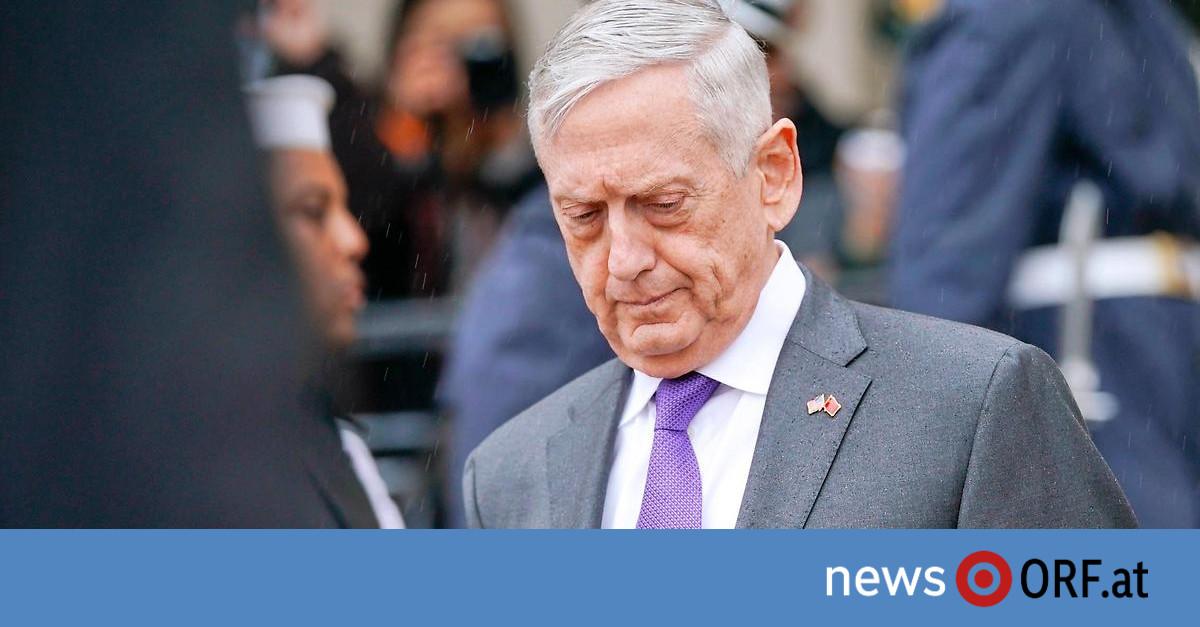 """""""Politische Differenzen"""": US-Verteidigungsminister Mattis tritt zurück"""