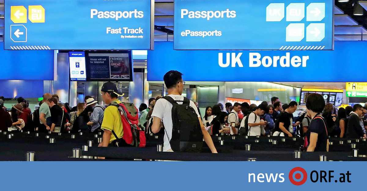 """Zeit nach """"Brexit"""": Briten stellen Regeln für Einwanderung vor"""