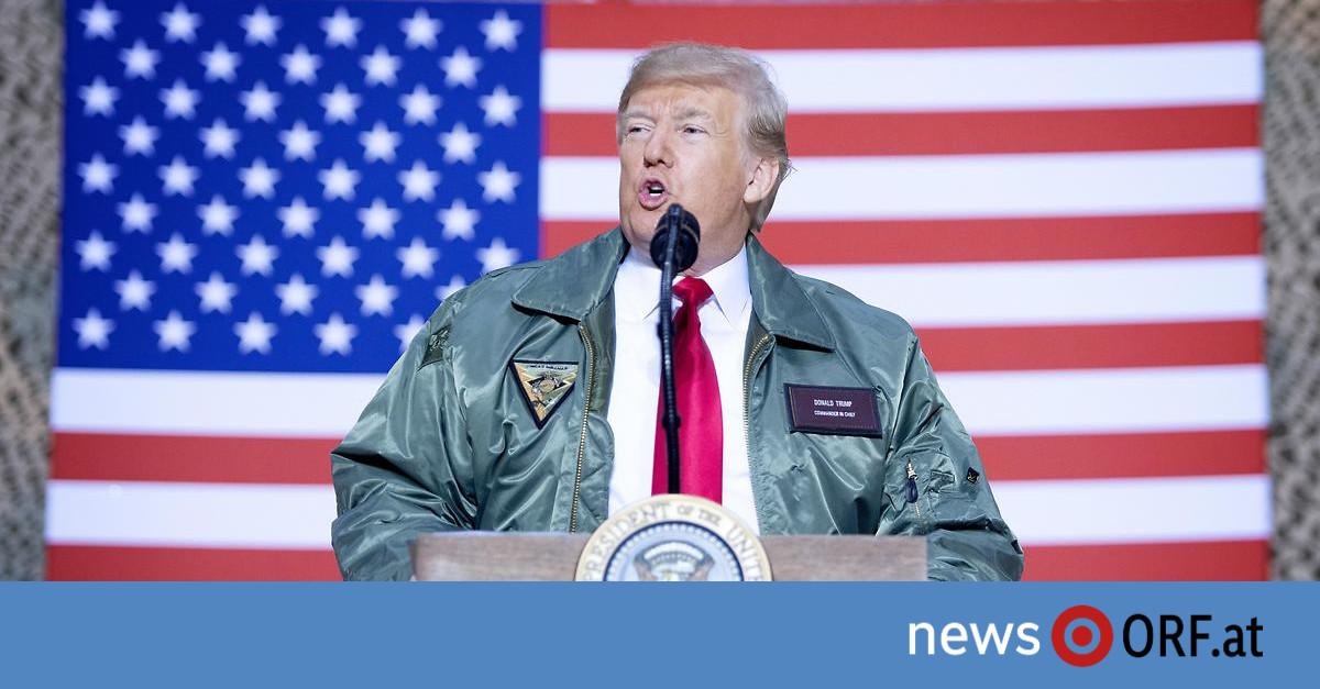 """Trump überraschend im Irak: USA nicht mehr """"Weltpolizist"""""""