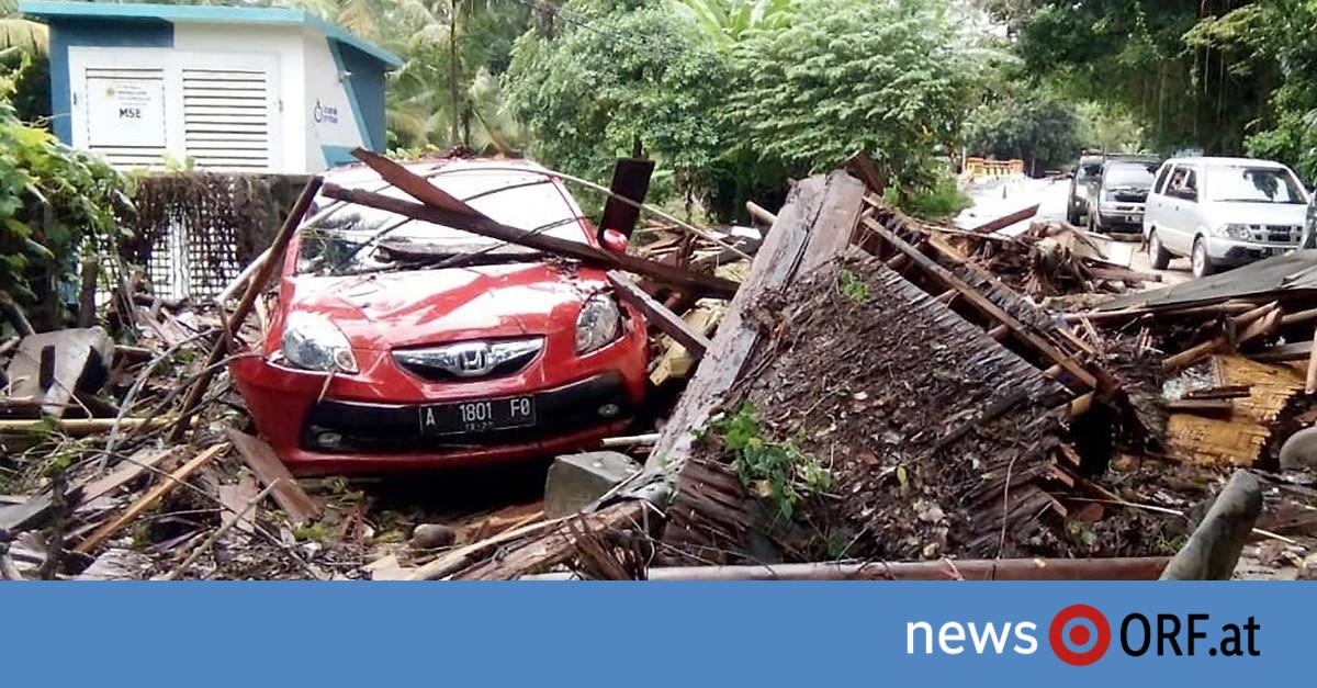 Indonesien: 168 Tote durch Tsunami