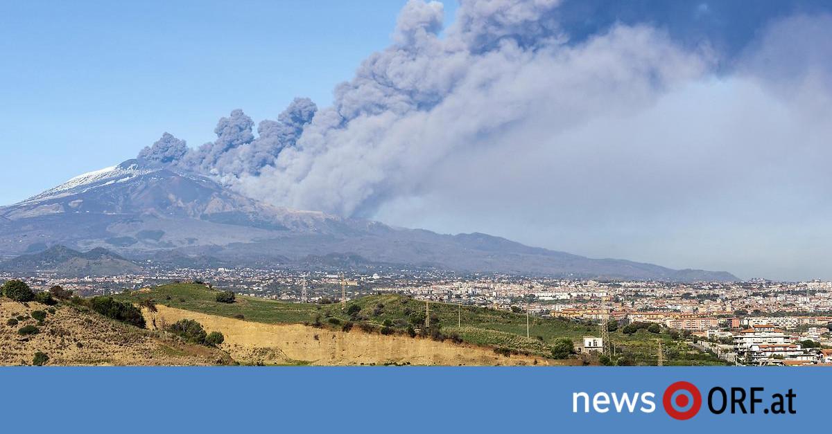 Sizilien: Vulkanausbruch zieht Erdbeben nach sich