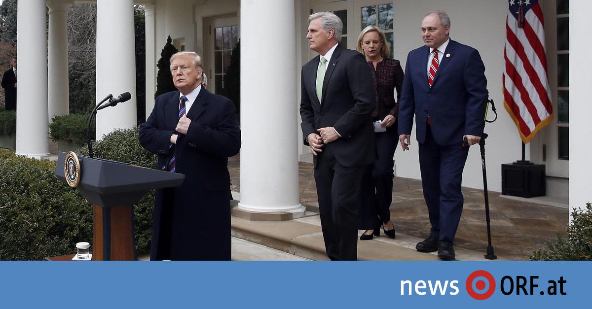 """""""Shutdown"""" hält an: Trump erwägt jahrelange Etatsperre"""