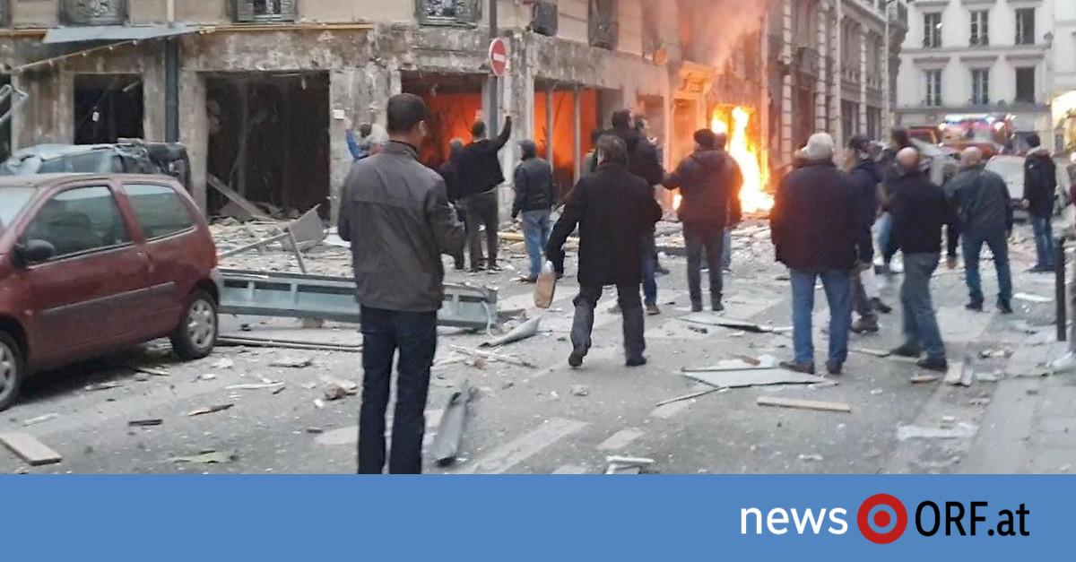 Tote und Verletzte nach Explosion in Paris