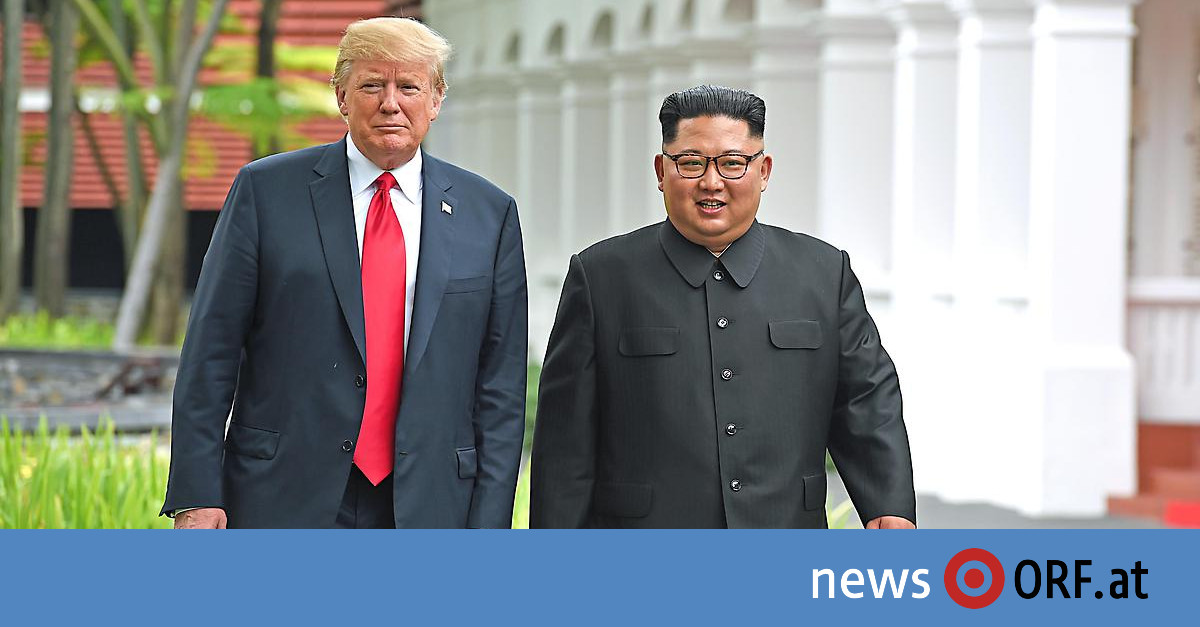 Trump – Kim: Neuer Gipfel für Februar angekündigt