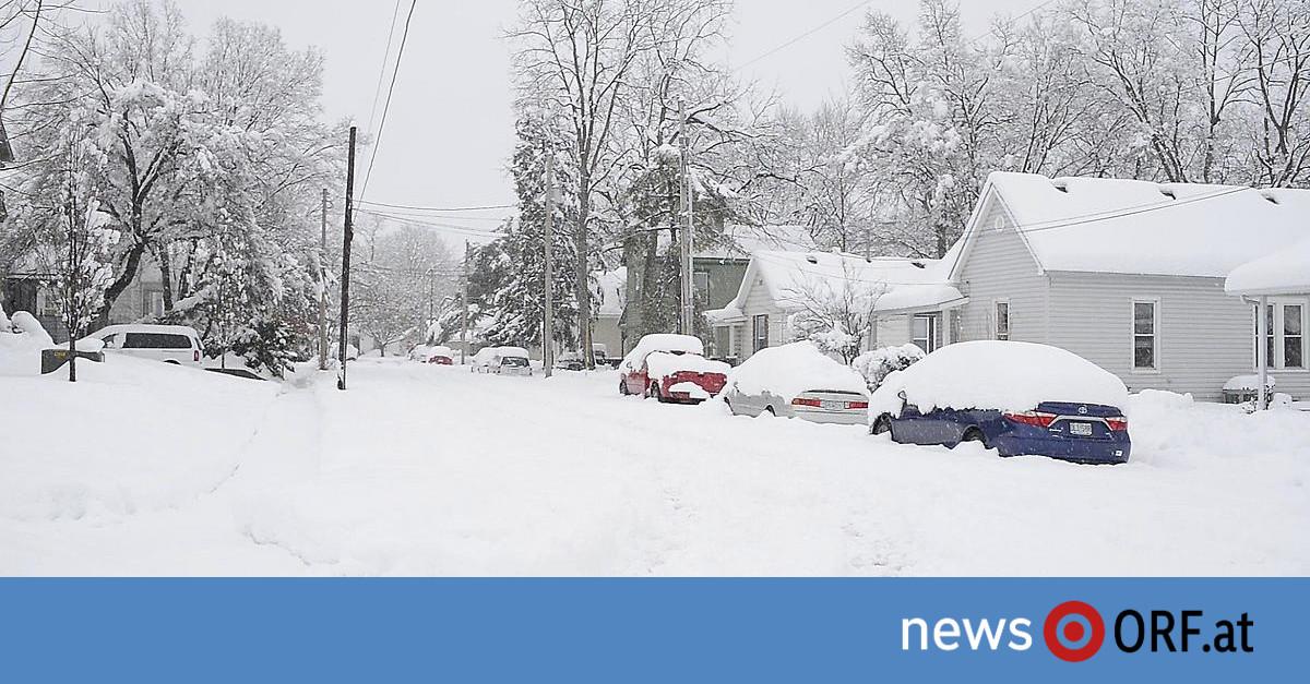 Arktischer Winter erreicht die USA