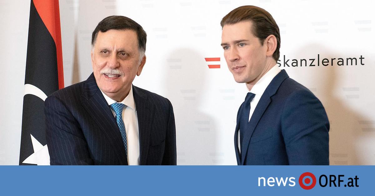 """Treffen mit Premier – Kurz will """"volle Unterstützung"""" für Libyen"""