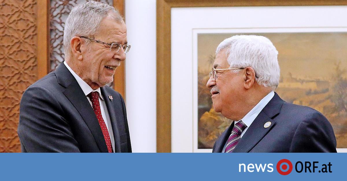 Besuch bei Abbas – Van der Bellen für Zweistaatenlösung