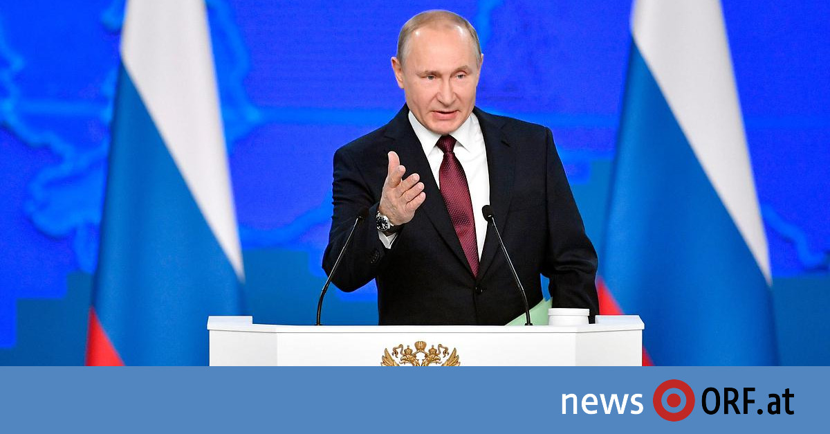 Raketenstreit: Putin droht USA
