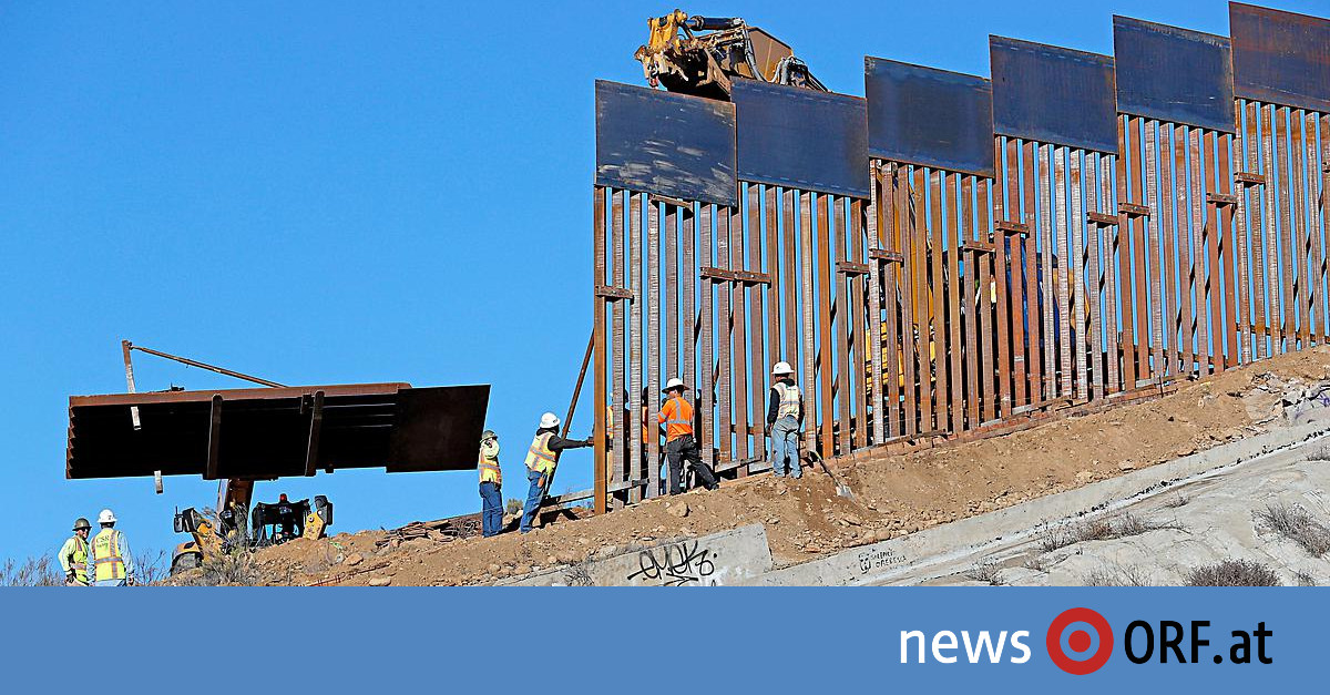 Notstand wegen Mauer: 16 Bundesstaaten klagen Trump