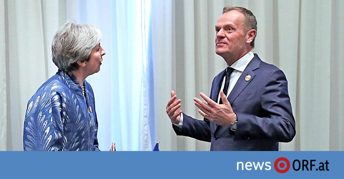 Brexit verschieben: May kann Tusk-Vorstoß nichts abgewinnen