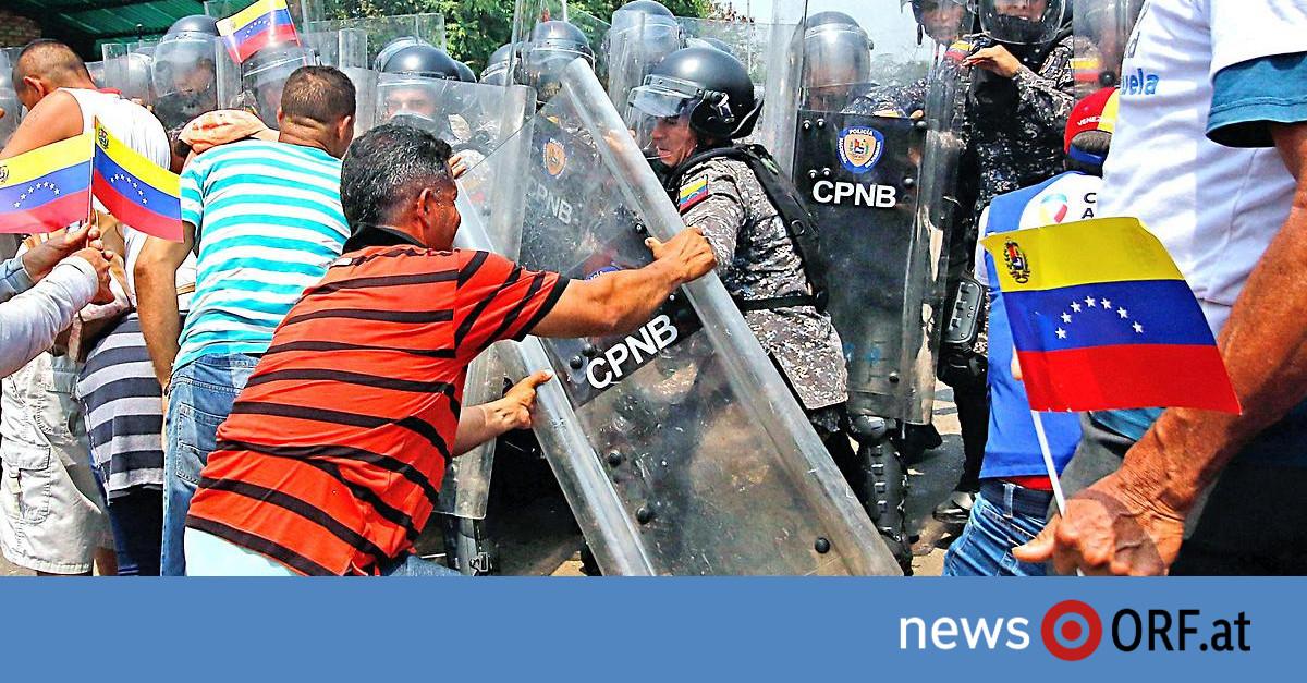 """Gewalt in Venezuela: USA sehen """"Zeit zum Handeln"""" gekommen"""