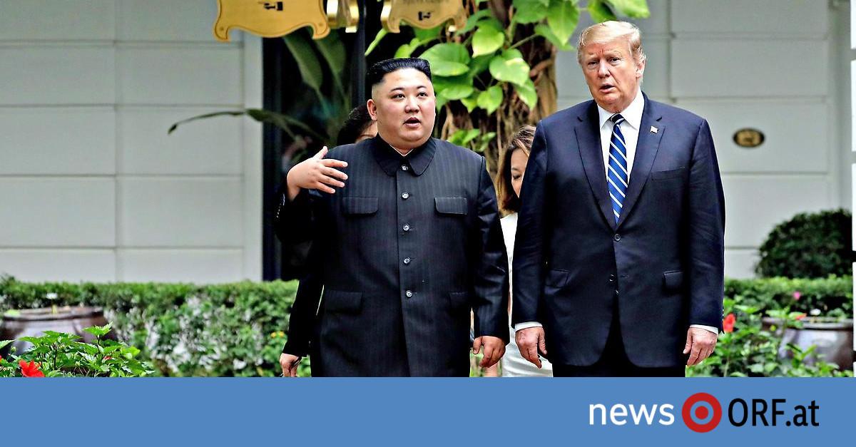 Treffen Kim Trump