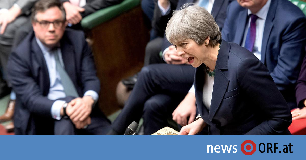 Chaos bei Torys: May will dritte Abstimmung über Brexit-Deal
