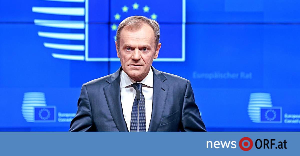 Brexit-Aufschub: Tusk stellt Bedingung an May