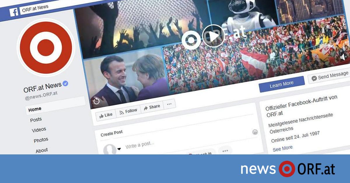 Ciao: ORF.at verabschiedet sich von Facebook