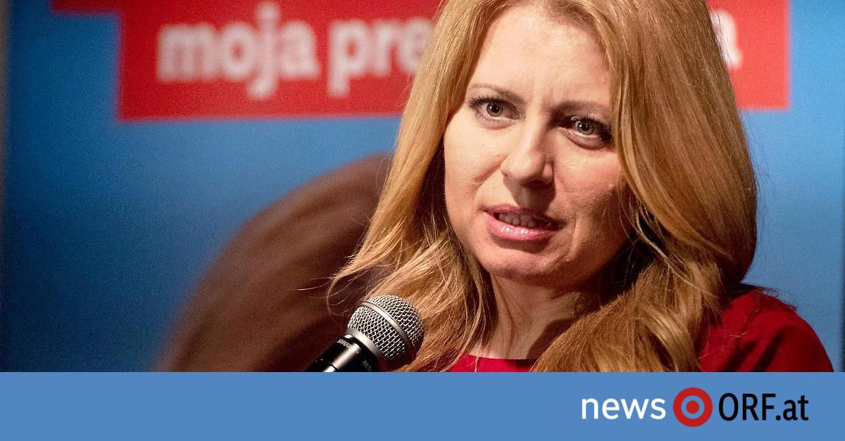 Slowakei-Wahl: Caputova gewinnt erste Runde