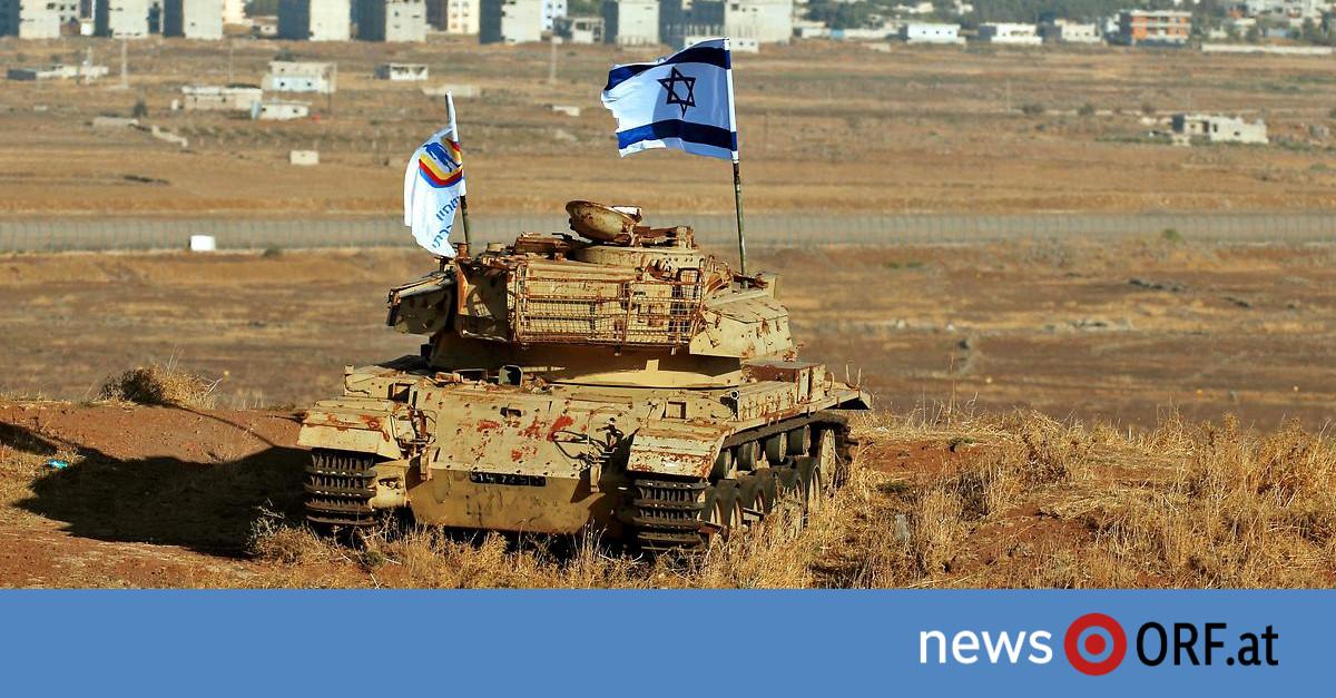 USA: Trump: Golan als Teil Israels anerkennen