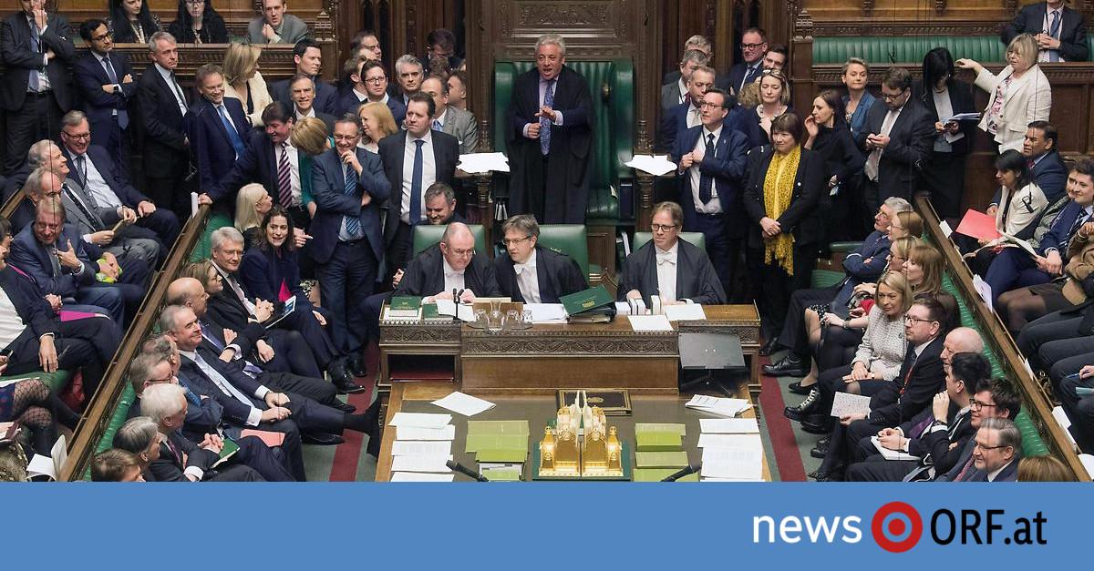 313 zu 312 Stimmen: Unterhaus stimmt für Brexit-Verschiebung