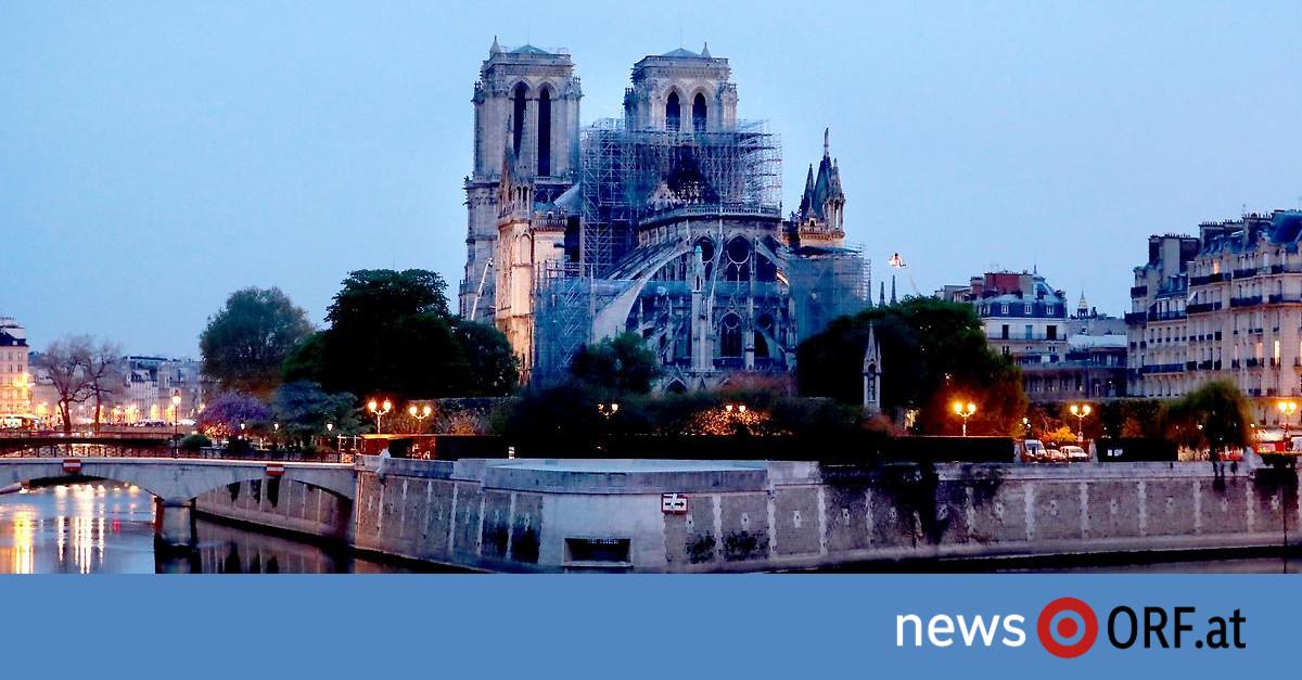 Notre-Dame de Paris: Feuer in Kathedrale unter Kontrolle