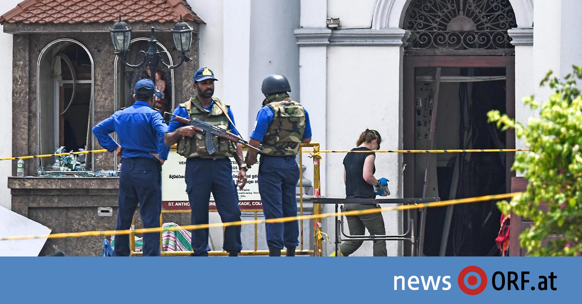 Sri Lankas Präsident: Islamistenführer bei Anschlag gestorben