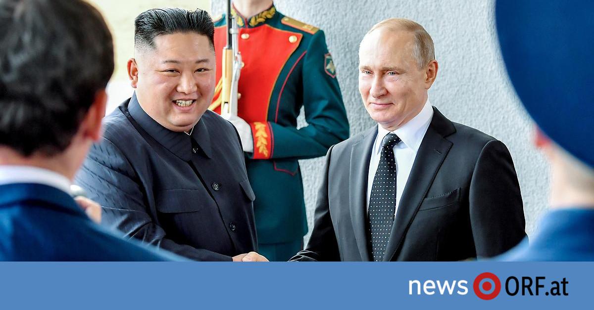 Gipfel in Wladiwostock: Kim und Putin erstmals zusammengetroffen