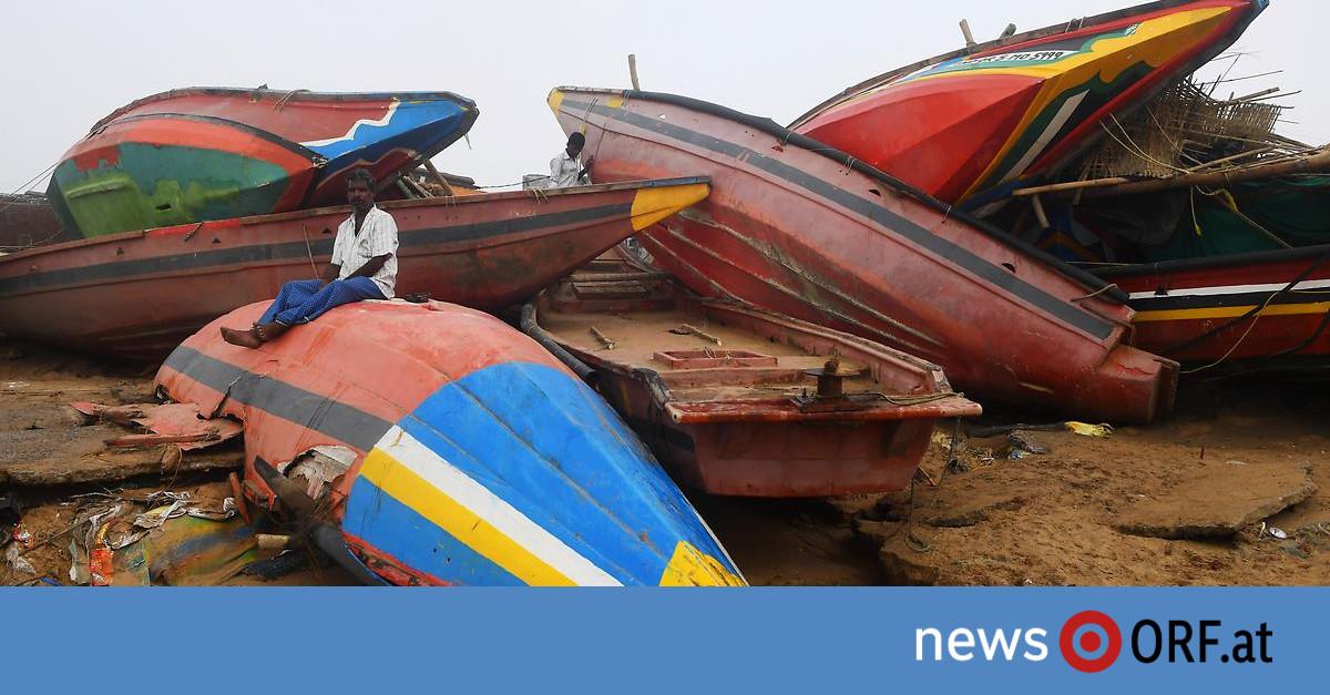 """Zyklon """"Fani"""": Wie Indien das Schlimmste verhinderte"""