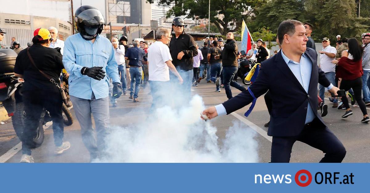 Venezuela: Guaido ruft letzte Kraftprobe aus